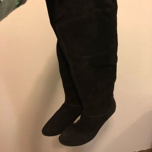 Bakers Suede Slouchy Boots
